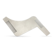 EZGO All in One Stainless Steel Beard Comb and Shaping Template Tool