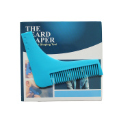 Beard Shaper Hair Shaping Tool Shaping Template Comb Tool for Handsome Mens
