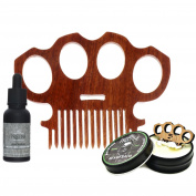 Knuckles Beard Comb & Care Kit