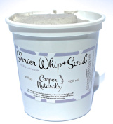 Cooper Naturals Exfoliating Shower Whip & Body Scrub Vanilla Lavender