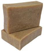 ATTIS Moringa Handmade Natural Soap (1pc)   Vegan   with Shea Butter, Grapefruit essential oil and Moringa powder