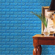 AxiEr PE Foam 3D Wallpaper DIY Embossed Brick Stone Wall Stickers Art Family Home Decor Decoration Vinyl Art Mural