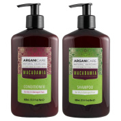 Arganicare Macadamia Shampoo & Conditioner Set