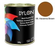 Dylon Havanna Brown Multi-Purpose Dye 500g Tin