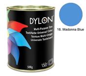 DYLON Madonna Blue Multi-Purpose Dye 500g Tin