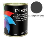 DYLON Elephant Grey Multi-Purpose Dye 500g Tin