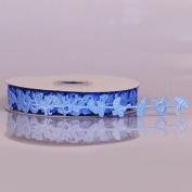 Baby Boy Blue Decorative Ribbon - 25 Yards 16MM
