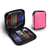 13 Sizes Circular Knitting Needle Kit 2.75mm-10mm Interchangeable Knit Needles With Zipper Storage Case