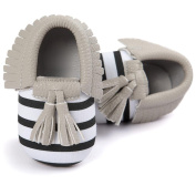 TRENDINAO Princess Baby Toddlers Girls Crib Tassels Bowknot First Walker Soft Shoes