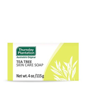 Tea Tree Skin Care Soap Thursday Plantation 120ml Bar Soap