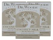 Dr. Woods Nourishing Coconut Milk Bar Soap with Vanilla Beans, Papaya, and Organic Shea Butter, 160ml