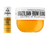 Brazilian Bum Bum Cream 240ml and Brazilian Kiss Lip Butter