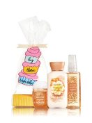 Bath & Body Works WARM VANILLA SUGAR Trio Travel Size Gift Set