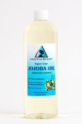Jojoba Oil Clear Organic Refined by H & B OILS centre Cold Pressed Premium Quality Natural 100% Pure 470ml