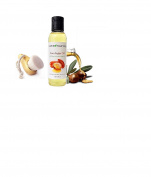 Argan Oil 100% Natural Pure Hair Nail Body and Skin Moisturiser Best Beauty Secret For Anti-Ageing Anti-Wrinkle Skincare Haircare Stretchmarks and Massage Oil Bonus Free Facial Brush 120ml