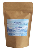 Glacial Marine Clay Powder (240ml) Healing Clay for Facial Mask, Body Wrap, Mineral Detox Bath, Skin Conditions, Acne, Clogged Pores - Purest, Most Highly Enriched Clay