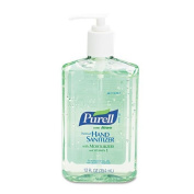 PURELL - Instant Hand Sanitizer w/Aloe, 350ml Pump Bottle 3639-12EA (DMi EA by Purell