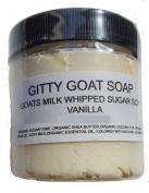 Gitty Goat Milk Soap Sugar Scrub, Vanilla, 120ml