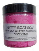 Gitty Goat Milk Soap Sugar Scrub, Grapefruit, 120ml