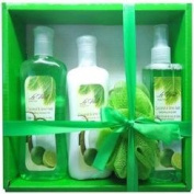 Coconut and Lime Twist Gift Set 4pc