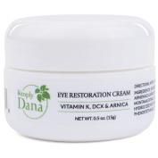 Simply Dana Eye Restoration Cream - Vitamin K, DCX & Arnica - Remove Dark Circles 15ml