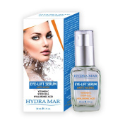 Hydra Mar Hyaluronic Eye Lift Serum, Vitamin C, 30ml
