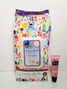 Beauty Concepts Lavender with Aloe Facial Wipes Deep Cleansing Dirt, Oil & Make up- 60 Wipes - Free Starry Lip Plumping Gloss 10ml