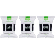 Dude Products Face Wipes, Energise, 120 Count