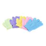 Noxus Bros New FashionFive fingers bath gloves nylon bath bath towel strong exfoliating
