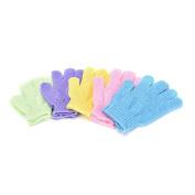 Noxus Bros New FashionFive fingers bath gloves nylon bath bath towel strong exfoliating