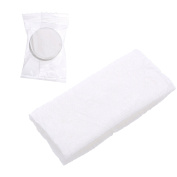 Compressed towel,100 white disposable non-woven compressed towel,White Diaposable Face Wash Towels