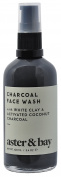 Aster & Bay - All Natural Activated Charcoal Face Wash