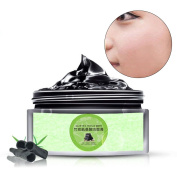 OR Pure Activated Charcoal Scrub Face Cleanser - Pore Minimizer,Reduces Wrinkles, Acne Scars and Blackheads,Helps Improve Complexion