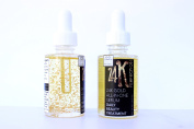 24K Perfection Gold Leaf Facial Serum - 30ml - Rosehip Face Oil by Good Common Sense Naturals