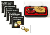 Wholesale Supply Ten Jeweller's Magnifying Glasses 10 Eye Loupes for Diamond Jewellery, Engraving, Faceting