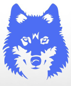 Wolf Face Muzzle Rubber Stamps custom stamps rubber