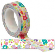 Colourful Flowers/Blossoms Washi Craft Tape - 10 Yards