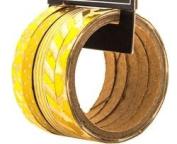 Foil Gold Washi Tape Skinny Tape Assortments - 5 Spools