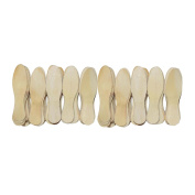 Coloured & Natural Wooden Ice Cream Sticks Popsicle Sticks & Spoon : 100 Pcs Pack