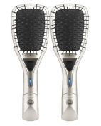 As Seen On TV Fuller Brush Ex-static Ionic Silver Brush