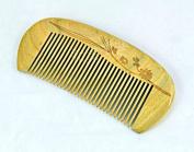 125.5CM No Static Green Sandalwood Wooden Comb Health Care Comb S1