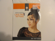 Adult Temporary Lace Face Tattoos