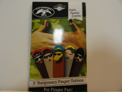 Duck Dynasty Temporary Finger Tattoos
