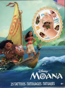 Disney Moana - Temporary Tattoos - 25 Tattoos By Savvi