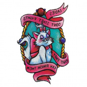 Yeeech Temporary Tattoos Sticker Elegant Fox Designs Waterproof Pink White