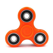 ToyzZone Fidget Hand Spinner Toy, Stress Reducer Ultra Durable High Speed Ceramic Bearing Fidget Finger Toy Can Continue to Rotate for 1-3 minutes - Perfect for ADD / ADHD / Anxiety / Autism And Stress Relief Adult Children, Office Desk Gadget