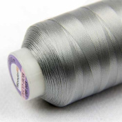 WonderFil Specialty Threads DecoBob Med Grey, 2-ply Cottonized Polyester, 80wt