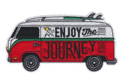 Asilda Store Enjoy The Journey Embroidered Sew or Iron-on Patch