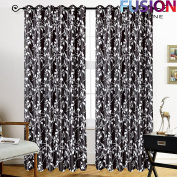 """LUXURY CURTAINS RING TOP FULLY LINED PAIR EYELET READY CURTAIN RING TOP DIEGO UK (90"""" x 90"""""""