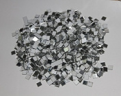 1000pcs 1x1cm mosaic square mirror sticker , Wall mirror sticker ,DIY craft & scrapbooking accessory